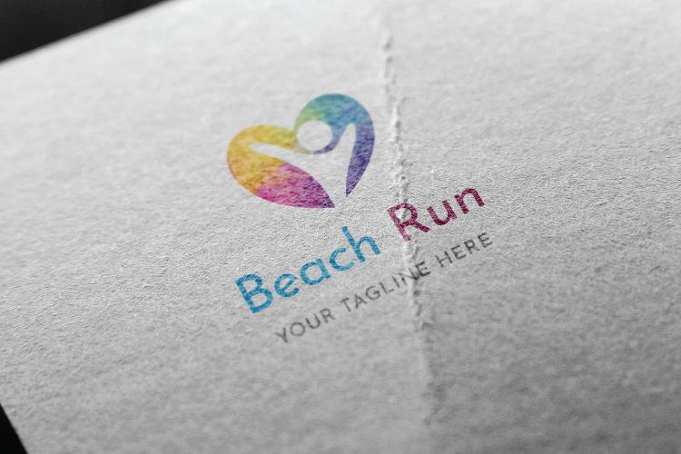 Beach Run Logo example image 2