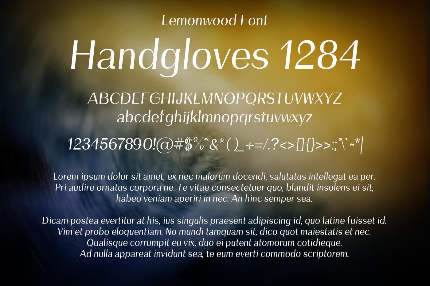 Lemonwood Font example image 2