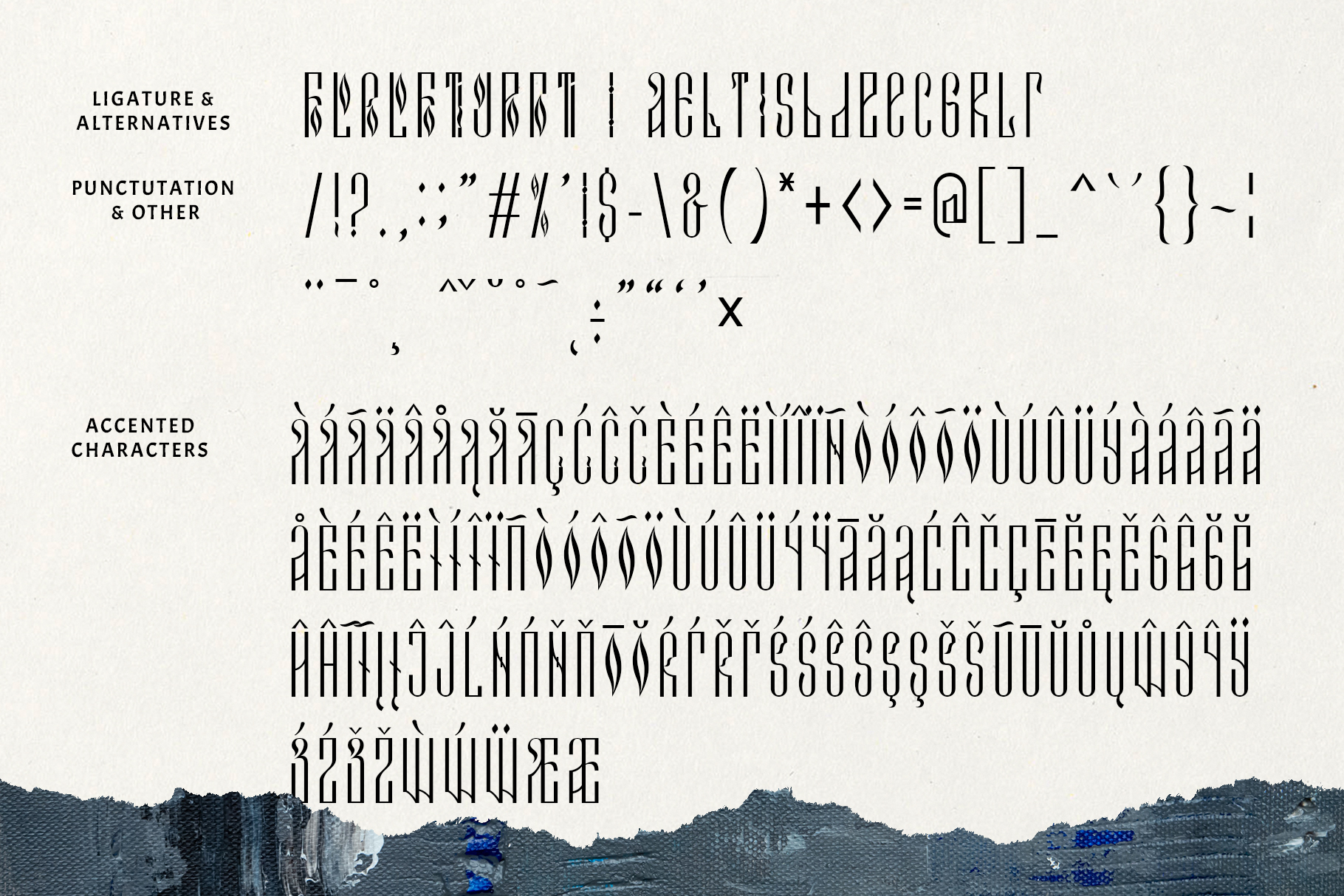Novodevichi - russian letter font example image 5