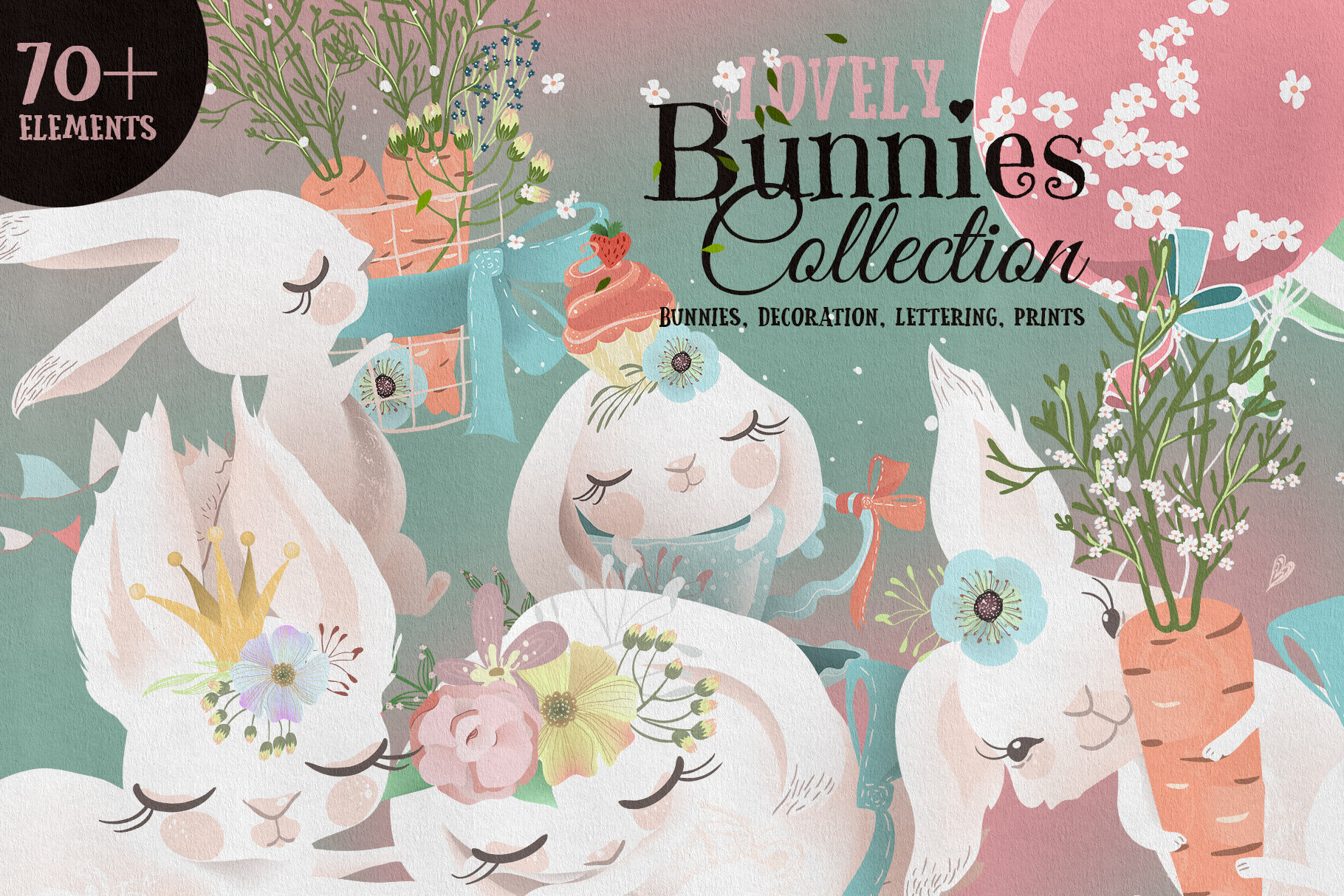 Lovely Bunnies Collection example image 1