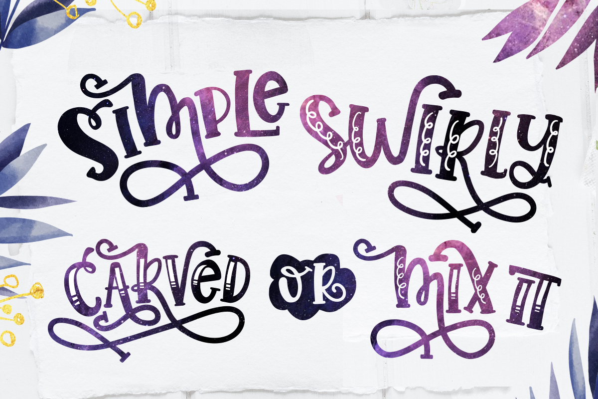 Sorinka Fun Font and extras example image 5