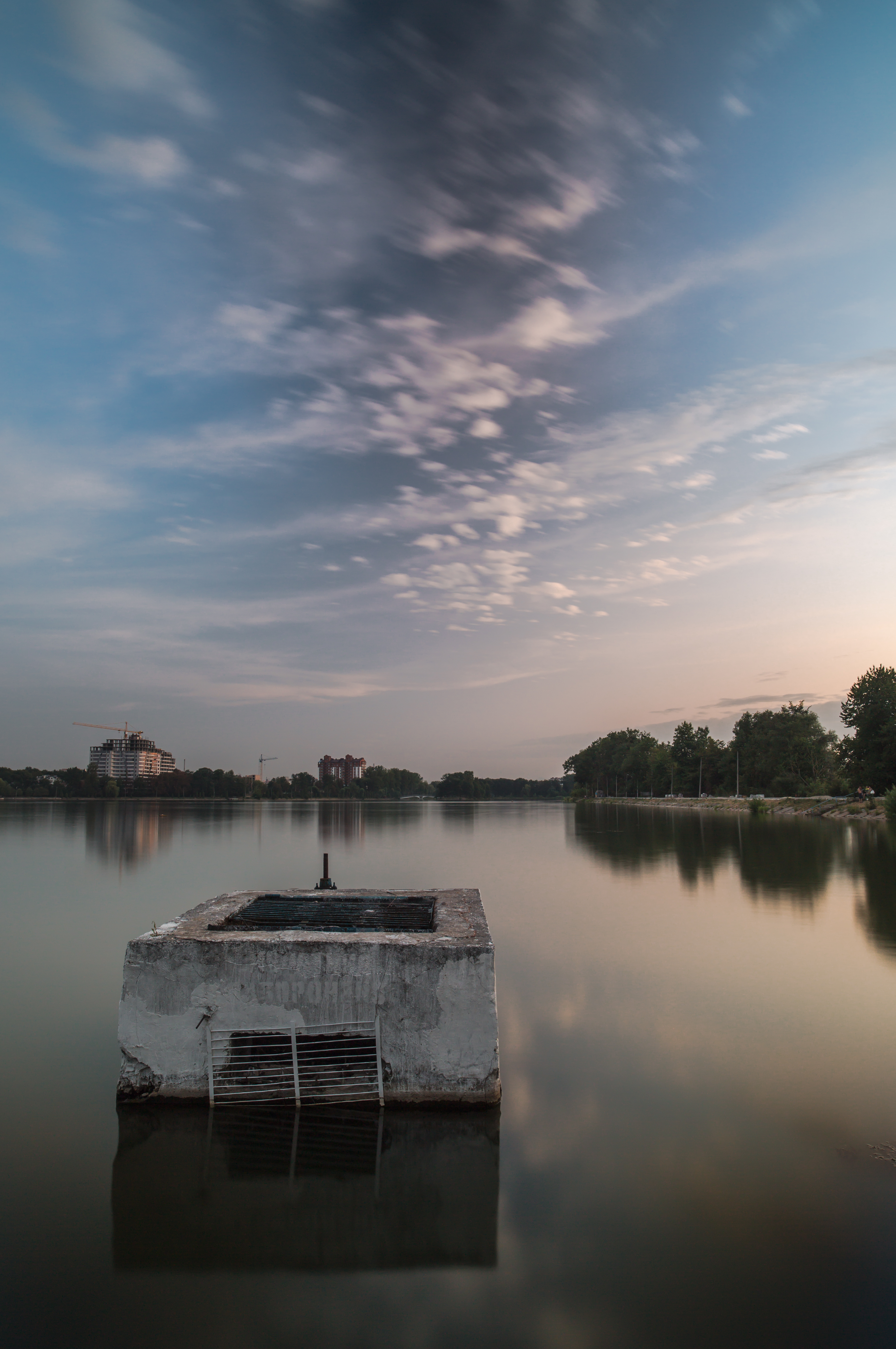 Lake during sunset  example image 1