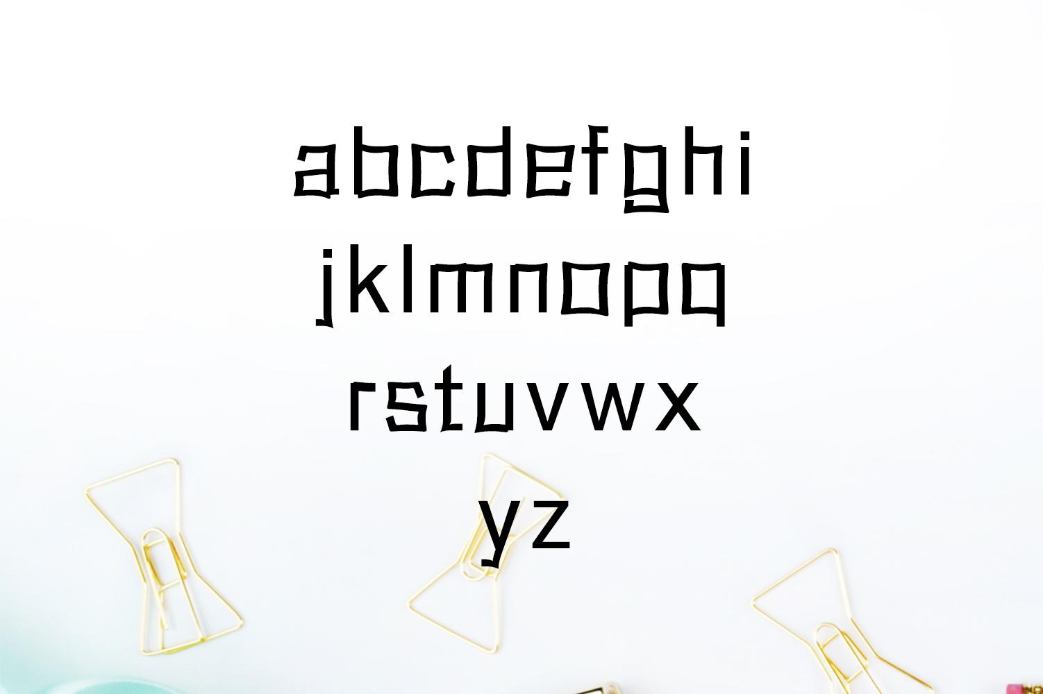 Abira Sans Serif Typeface example image 5