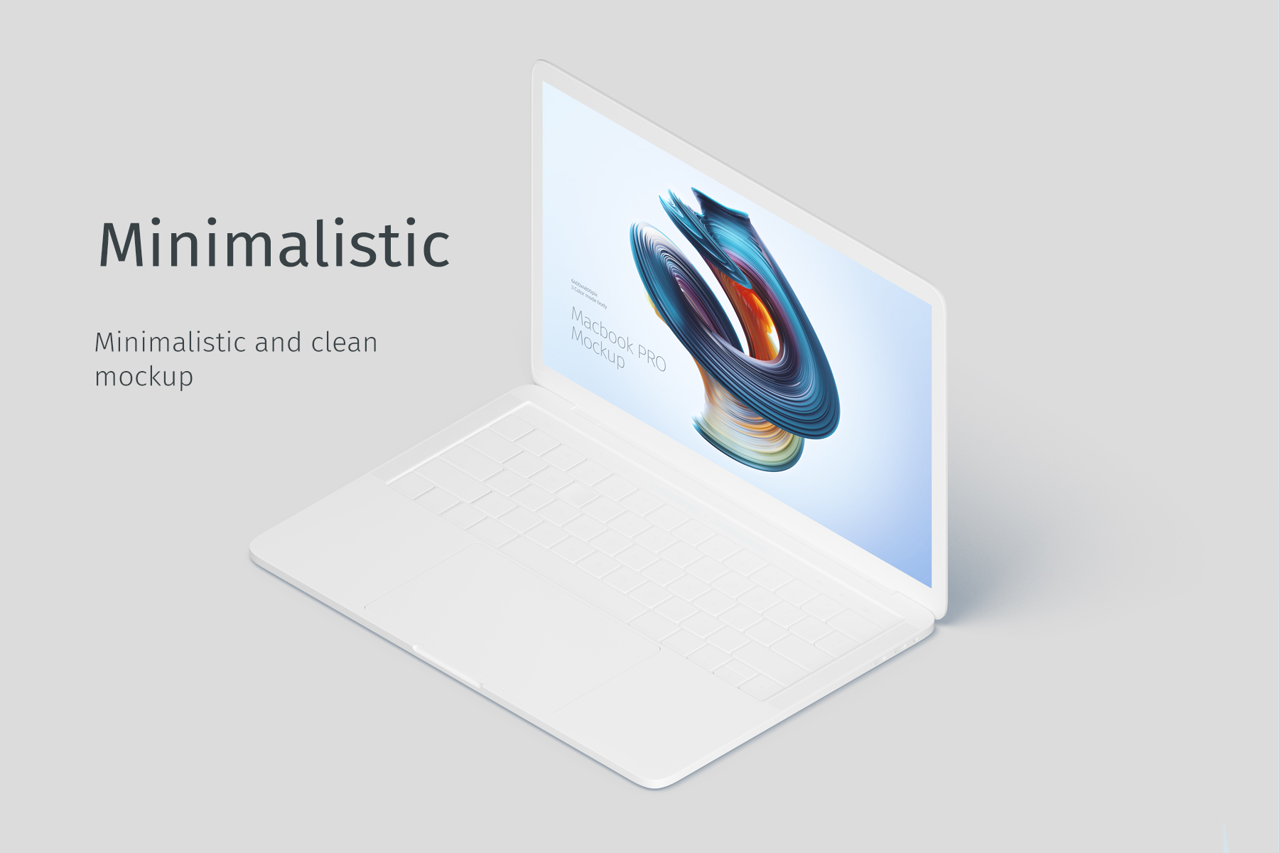 Macbook PRO Creative Mockup example image 4