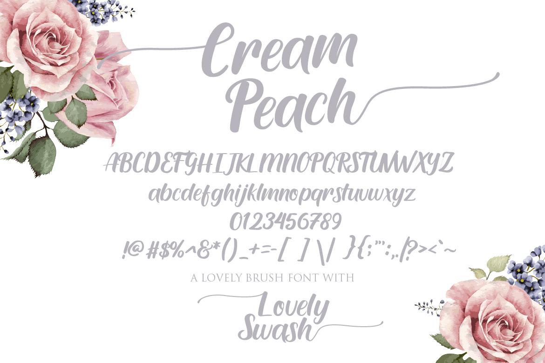 Cream Peach example image 5