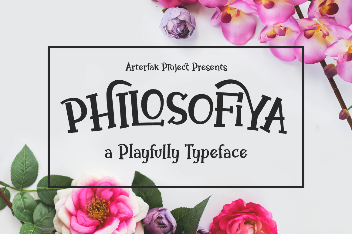 Philosofiya Typeface example image 1