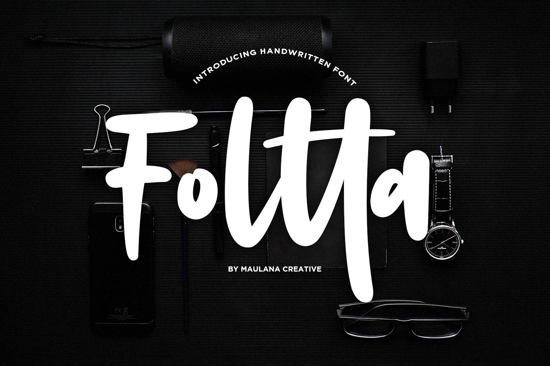 Foltta Typeface example image 1