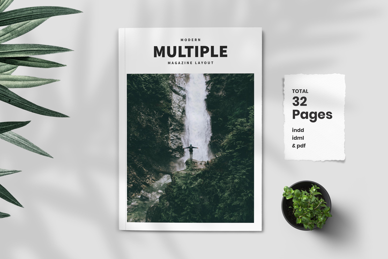 Modern Multipurpose Magazine Layout example image 1
