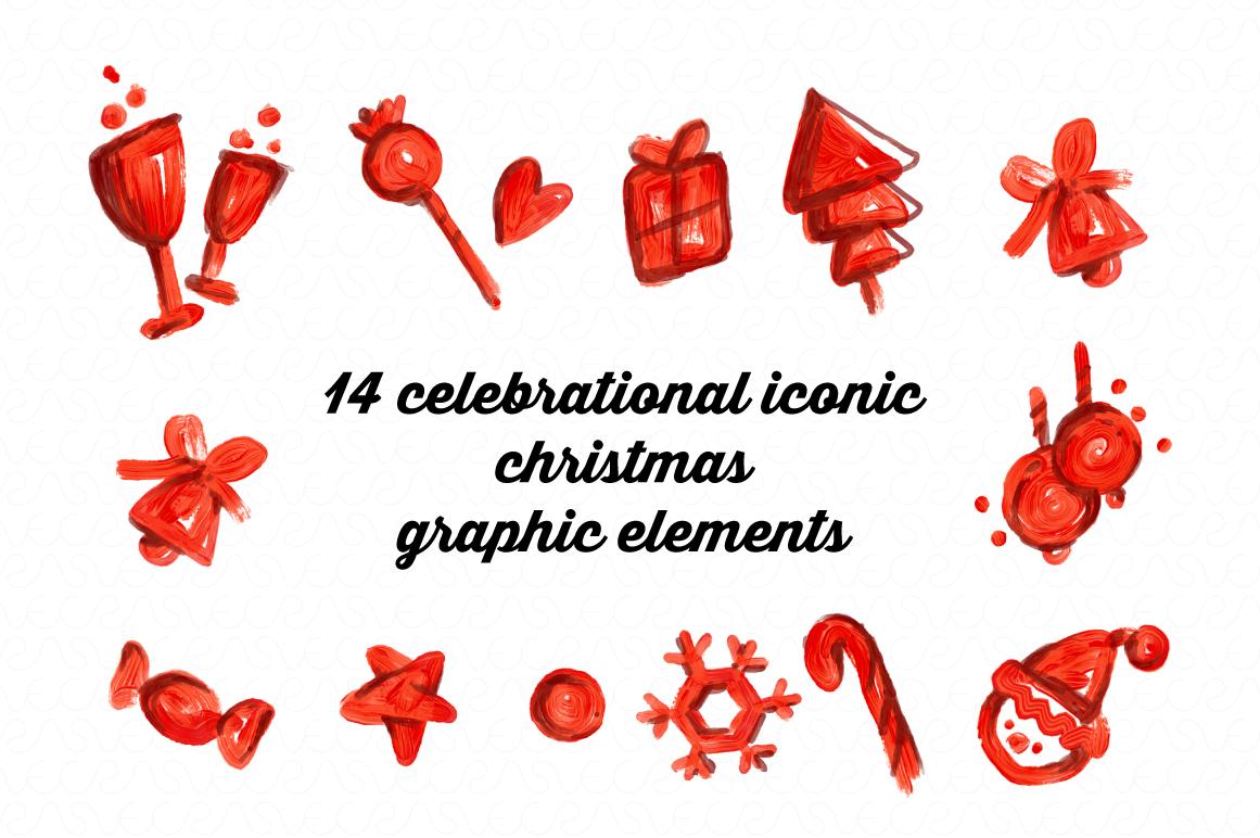 Christmas & New Year Bundle of Ornamental Mockups & Graphics example image 7