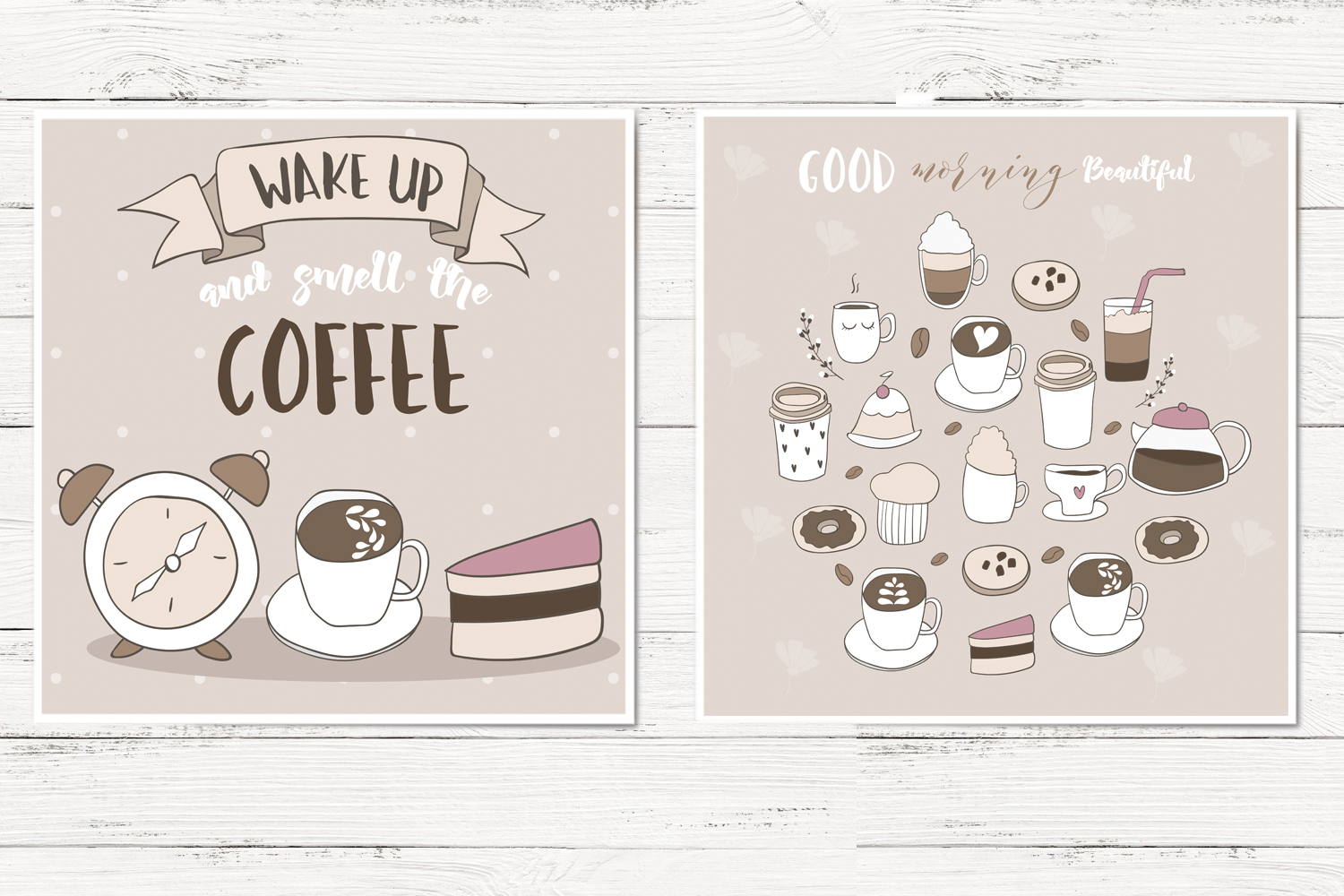Cute coffee clipart example image 4