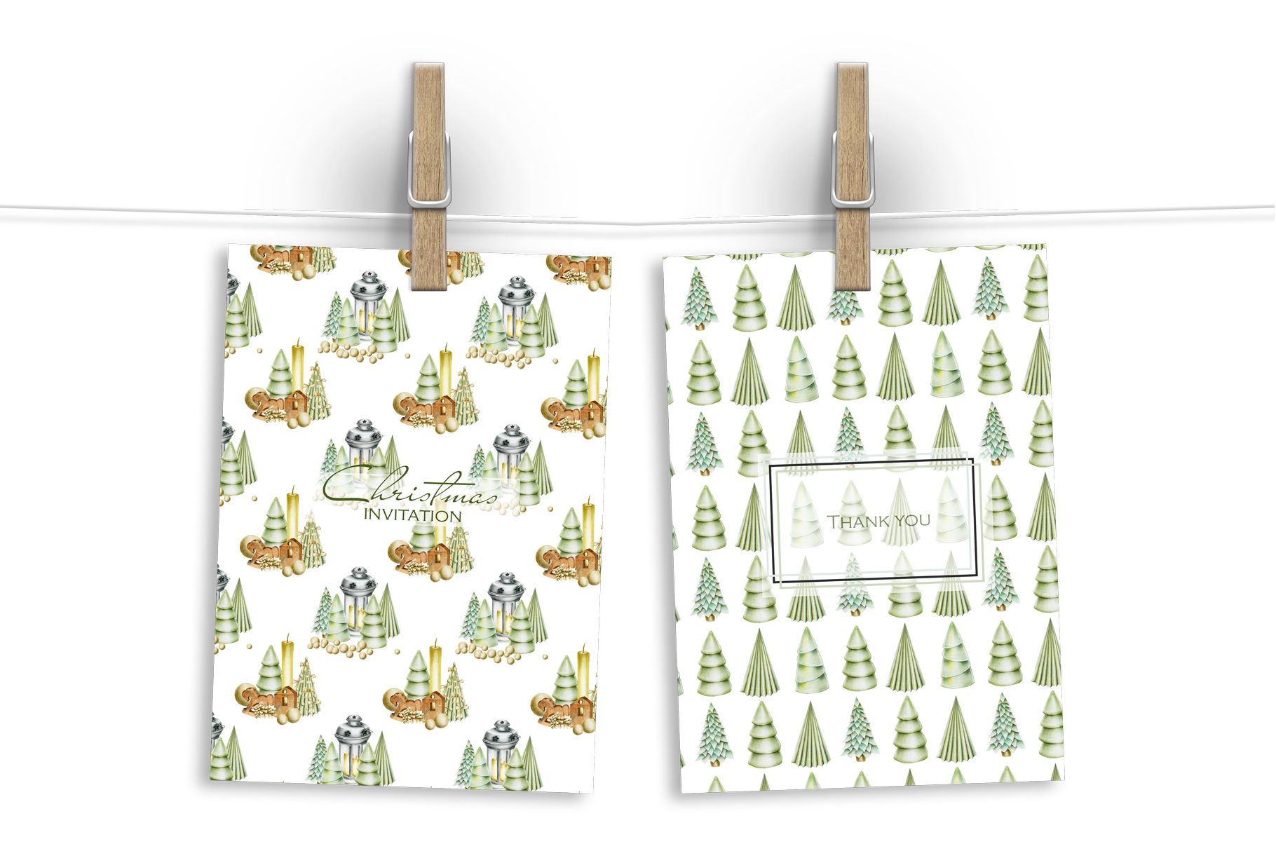 Perfect Christmas. 10 Christmas patterns. example image 5