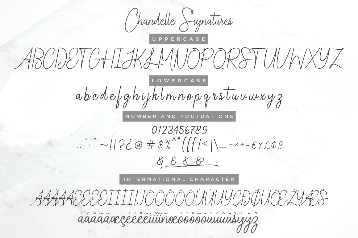 Chandelle Signatures example image 10