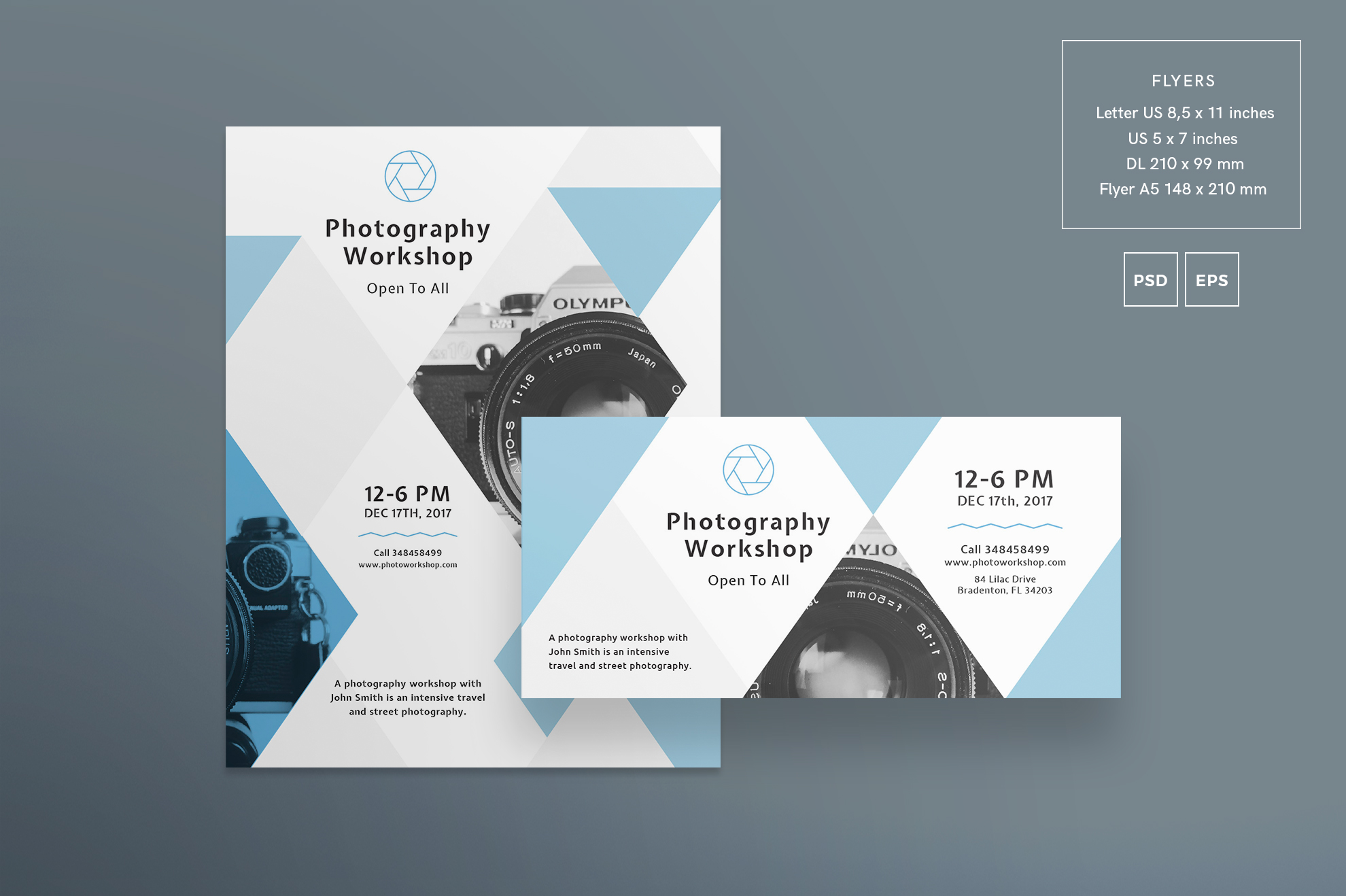 Free Bundle Flyers, Posters, Ad Banners, Social Media Covers and Posts, Business cards, Brending, Identity example image 21