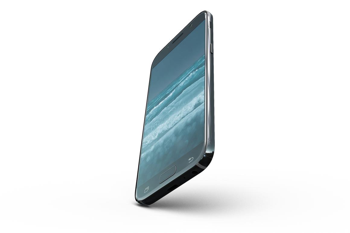 Samsung Galaxy A7 Mockup example image 13