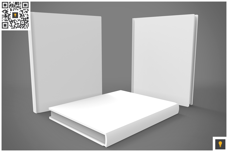 Book Set 3D Render example image 5
