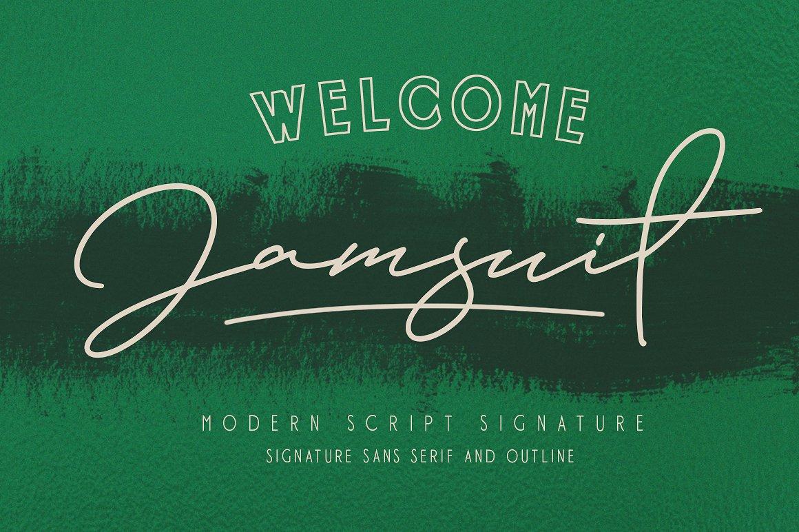 Jamsuit Font Duo example image 10