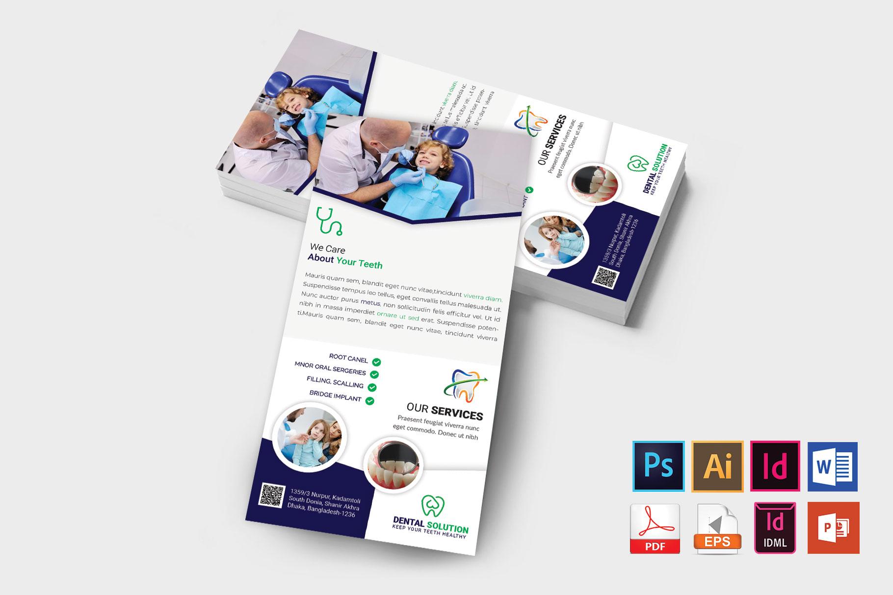 Rack Card   Dental DL Flyer Vol-02 example image 2