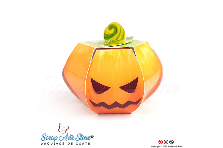 Box pumpkin hallowenn Cut Files example image 3