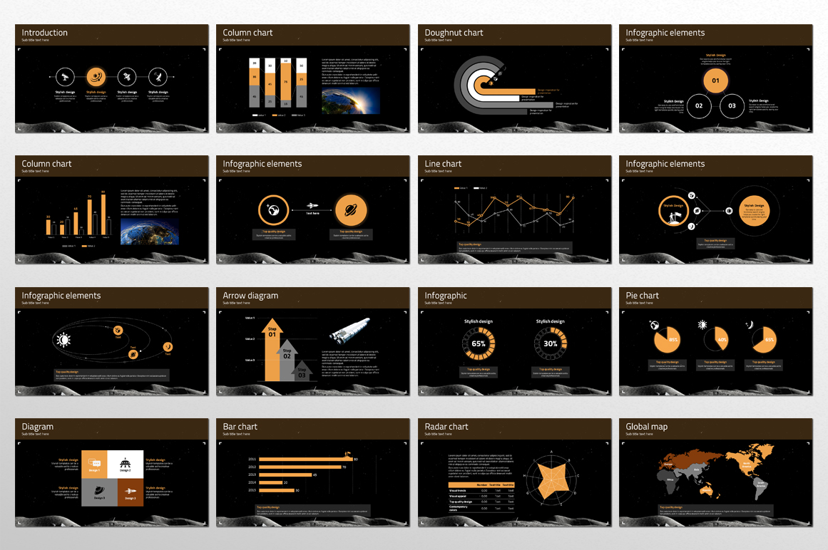 Space Exploration PPT example image 4