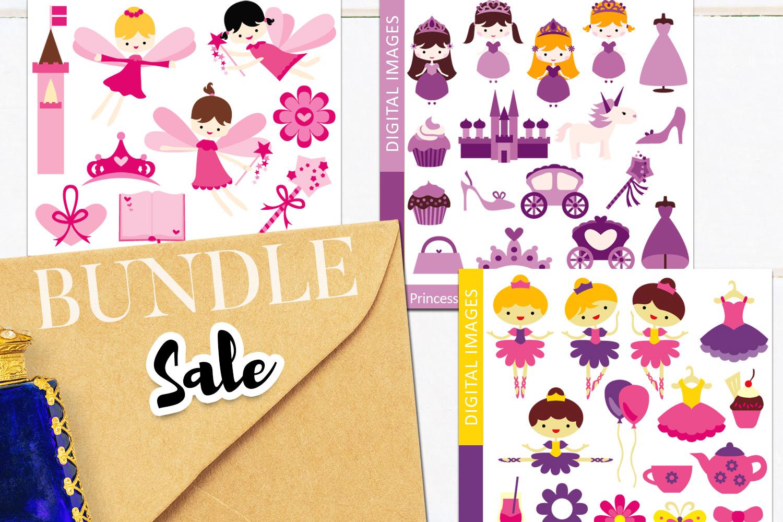 Just For Girls Clip Art Illustrations Huge Bundle example image 15