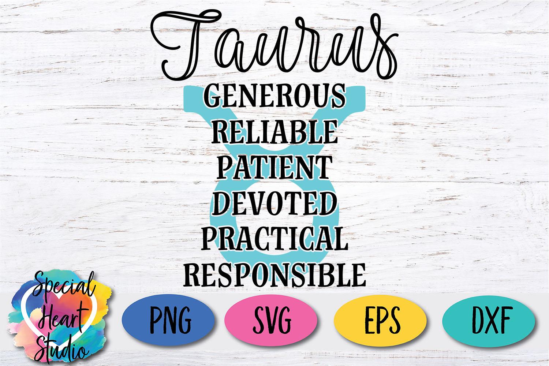 Taurus Zodiac SVG - A fun astrology SVG cut file example image 2