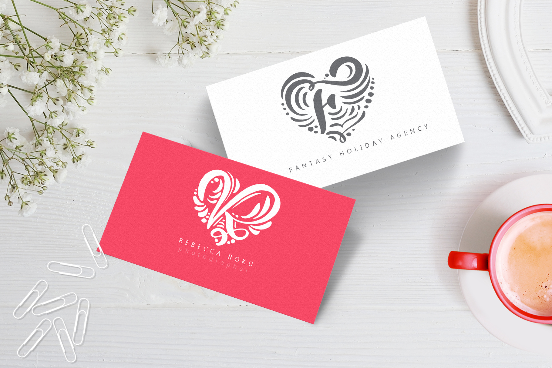 Monogram Valentine Font example image 5