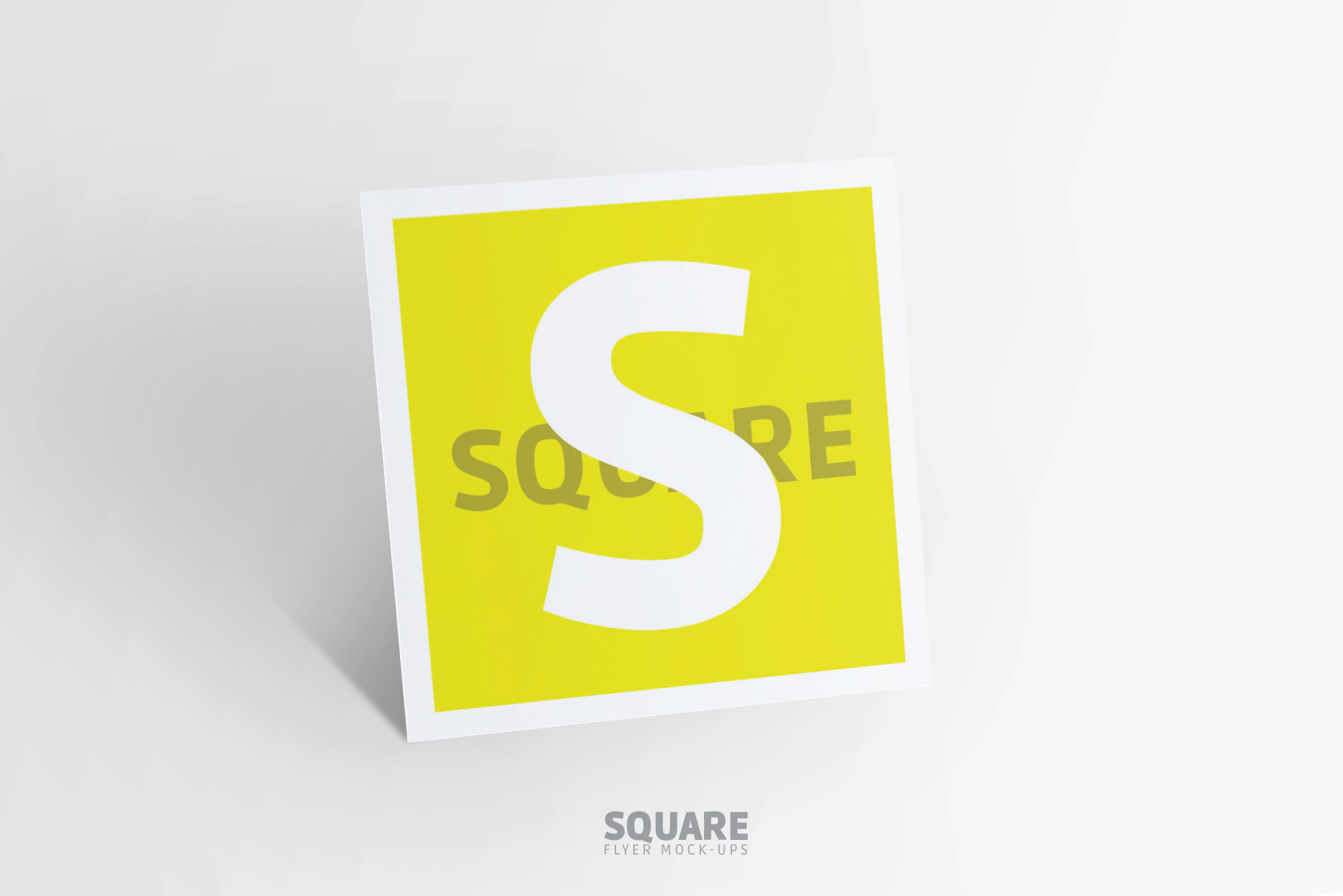 Square Flyer Mock-Up example image 5