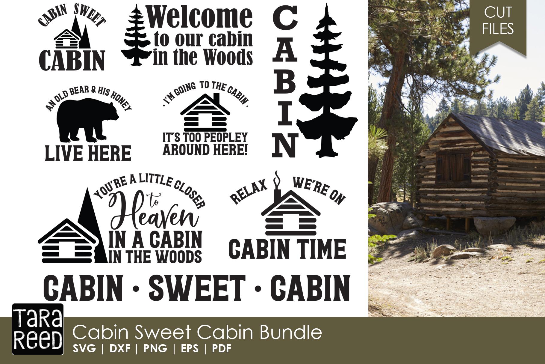 Cabin Sweet Cabin Bundle example image 1