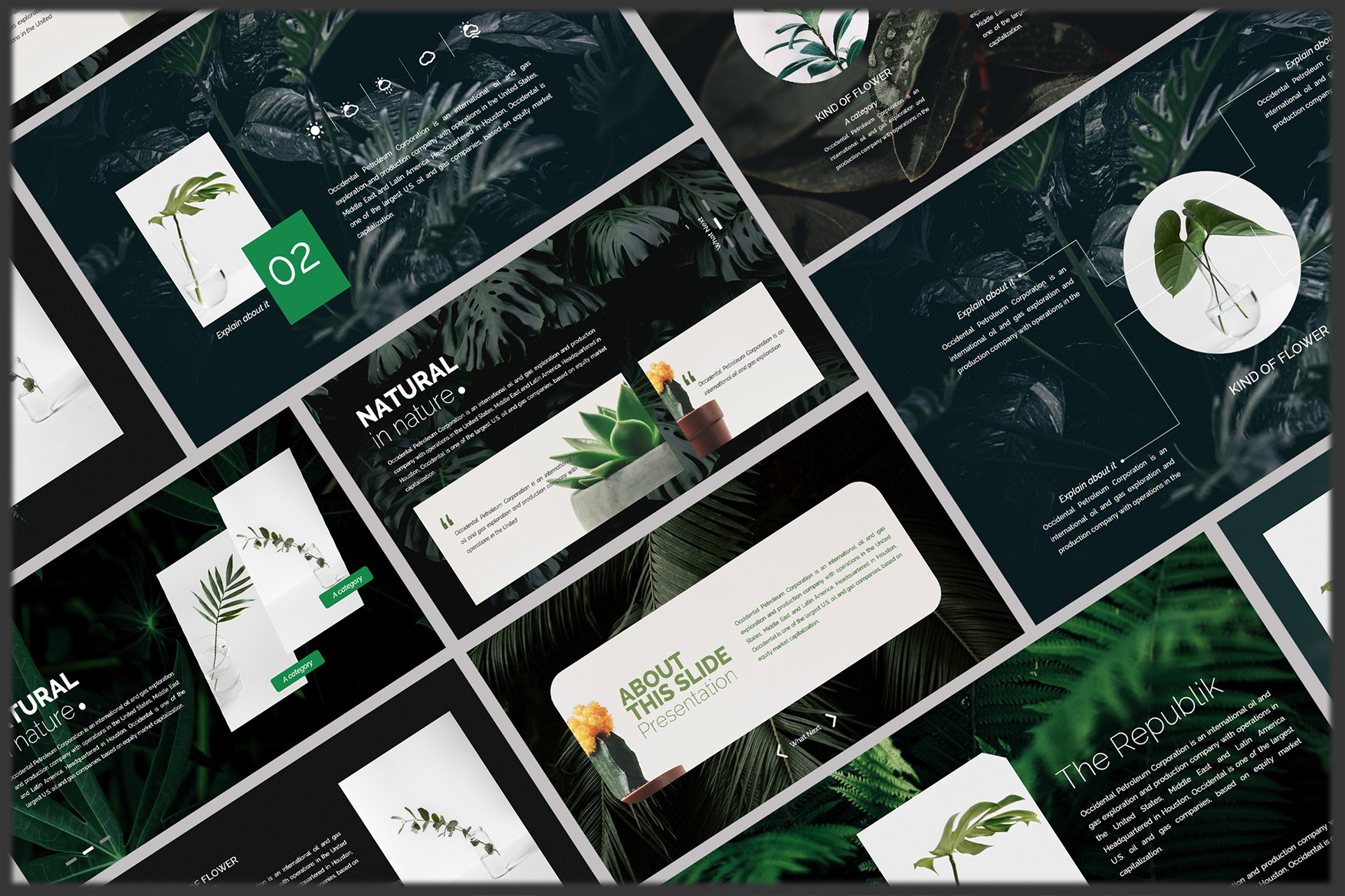 Nature Keynote Template example image 6