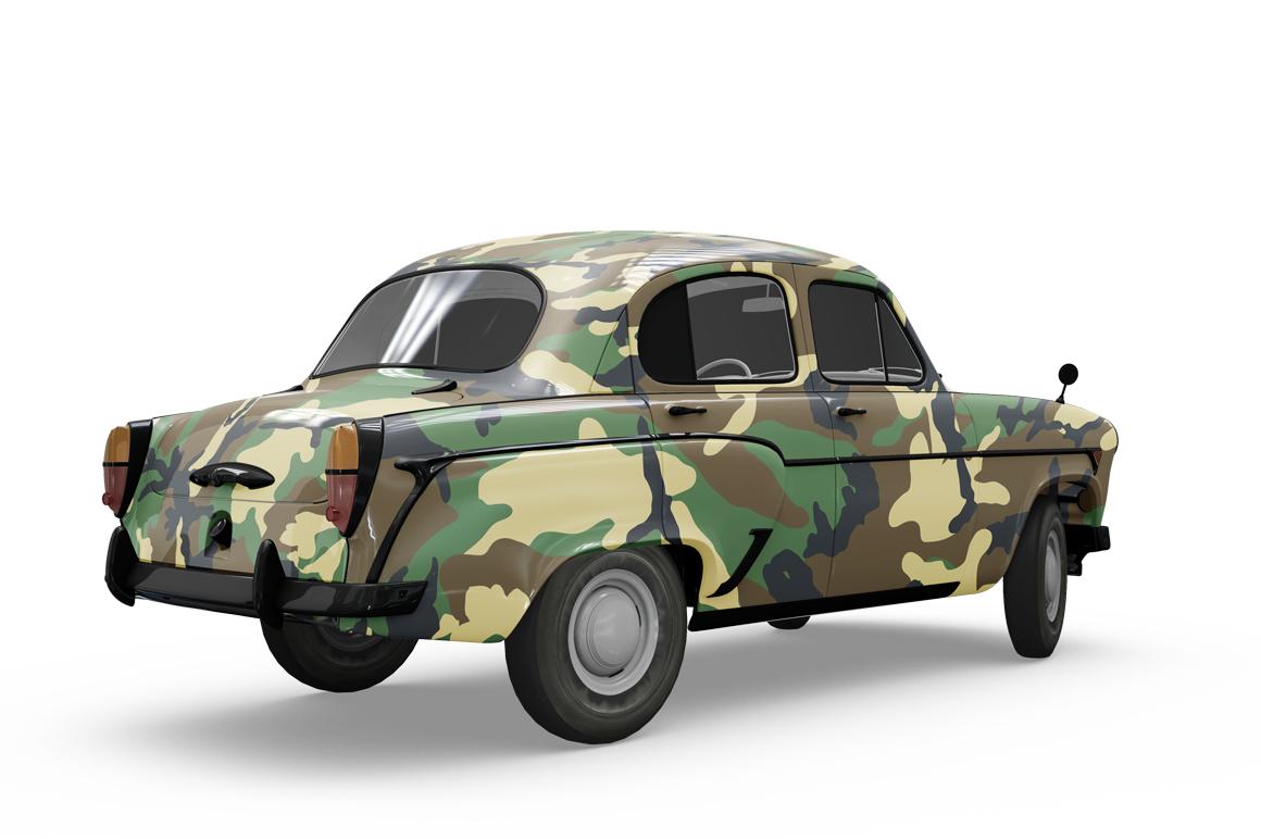 Vintage Car Mockup example image 4