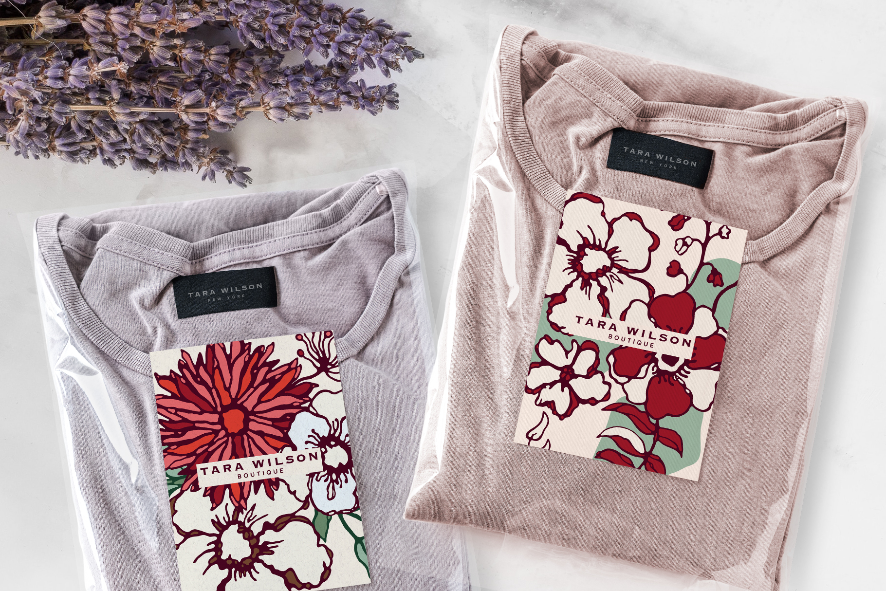 Winter Floral Patterns & Illustrations example image 29