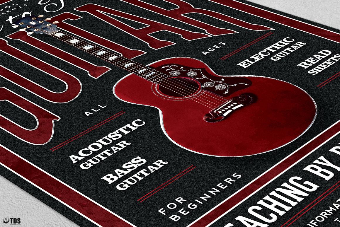 Guitar Lessons Flyer Bundle example image 9