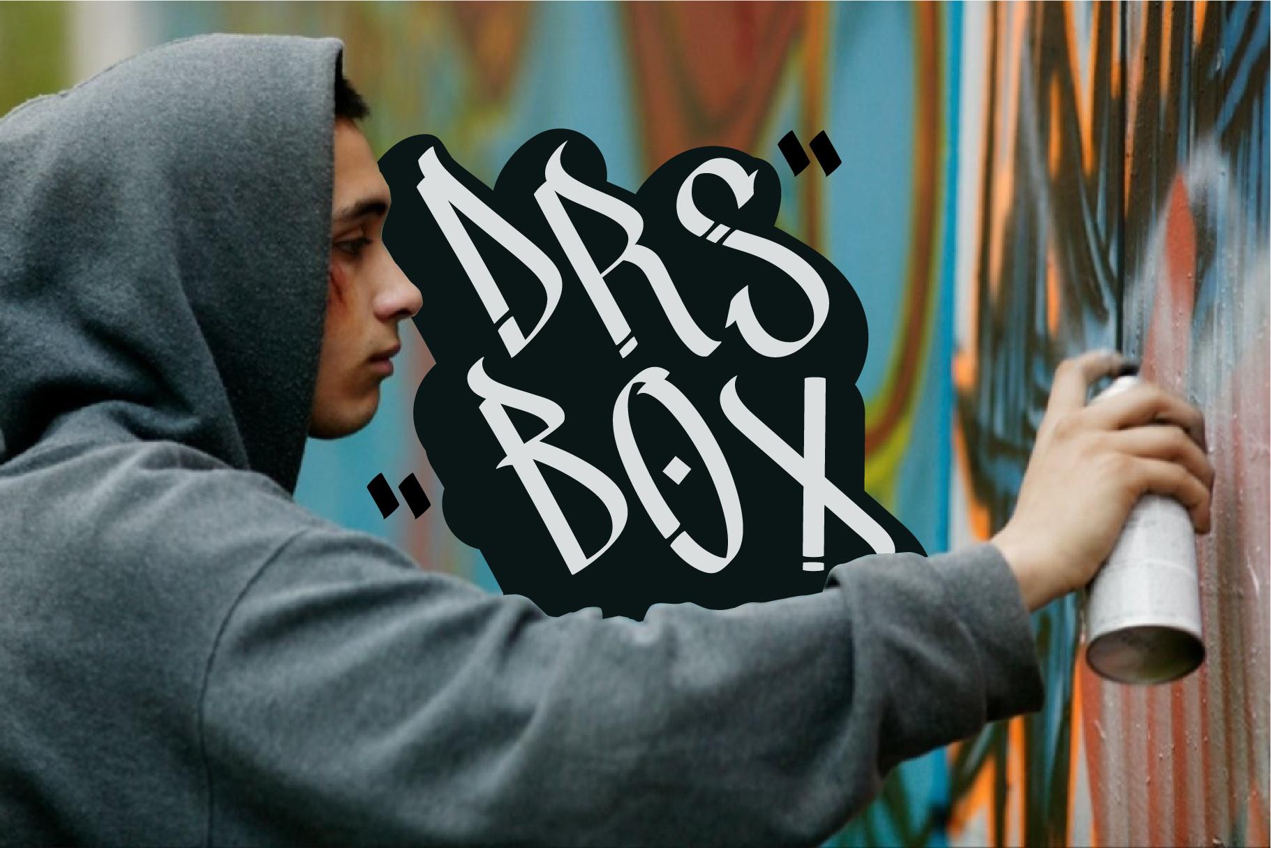 Street Beat Graffiti Typeface example image 5