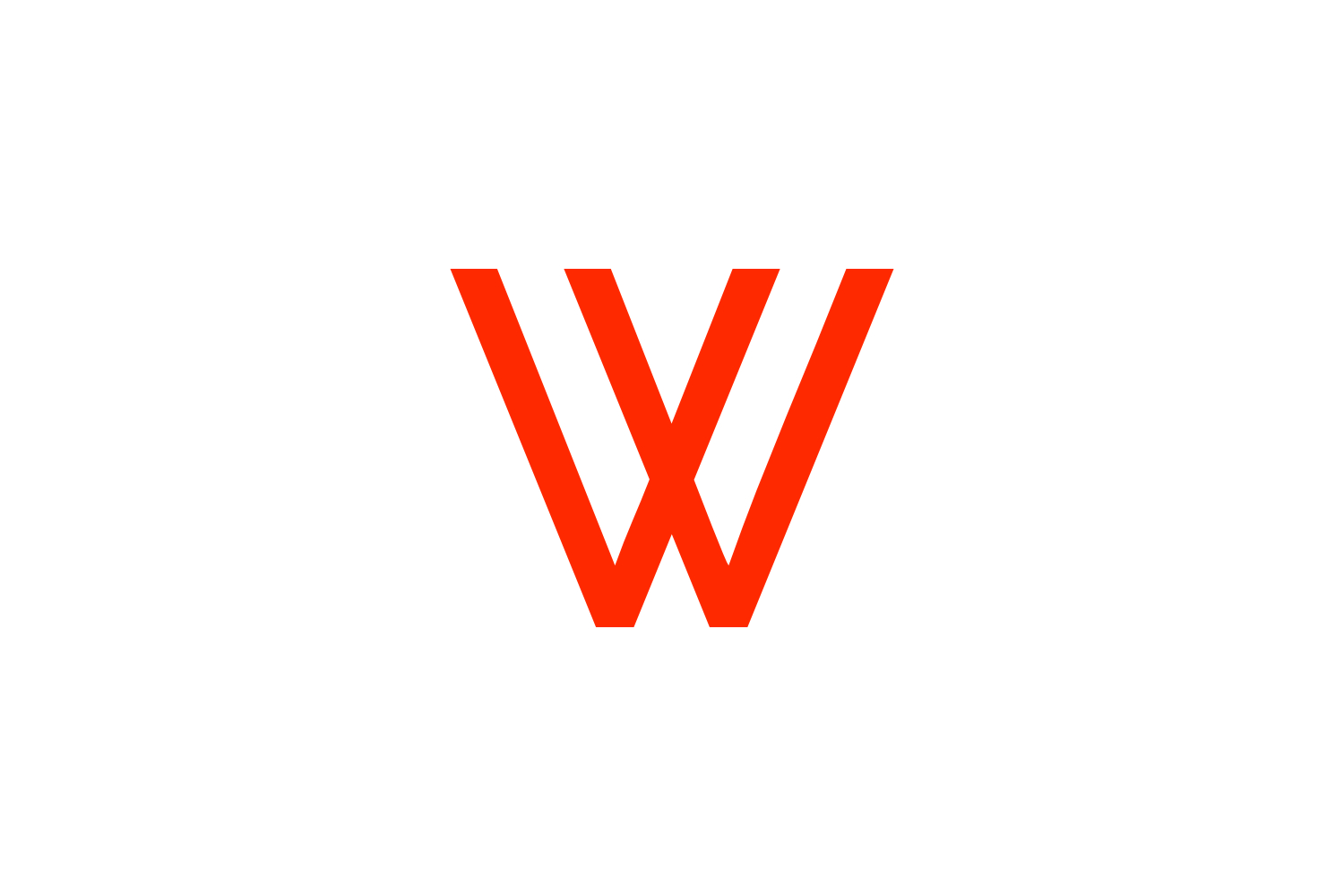 w letter logo example image 1