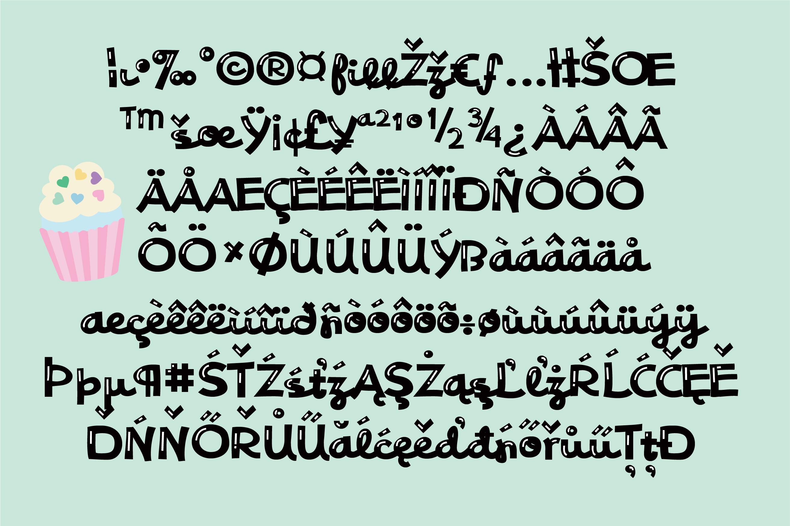 PN Phat Script Sheen Font Duo example image 3