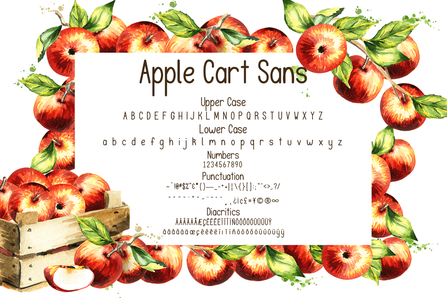 Apple Cart Font Duo example image 5
