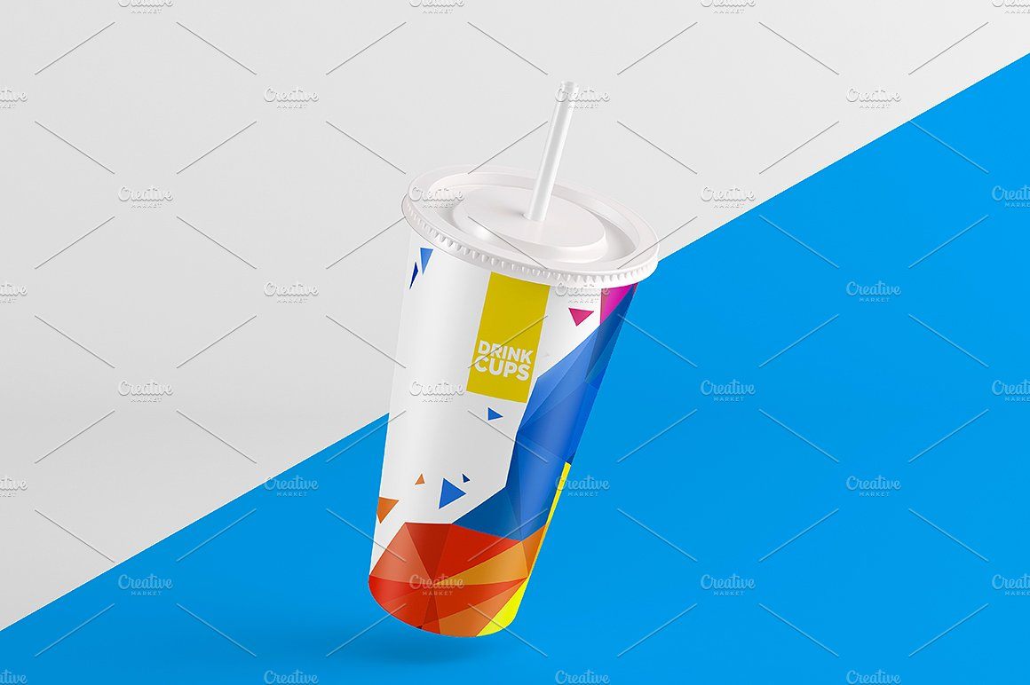Drink Cups Mock-Up example image 10