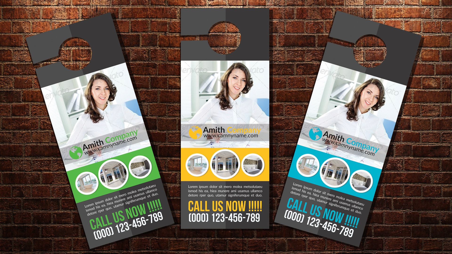 Personal Business Door Hangers example image 3
