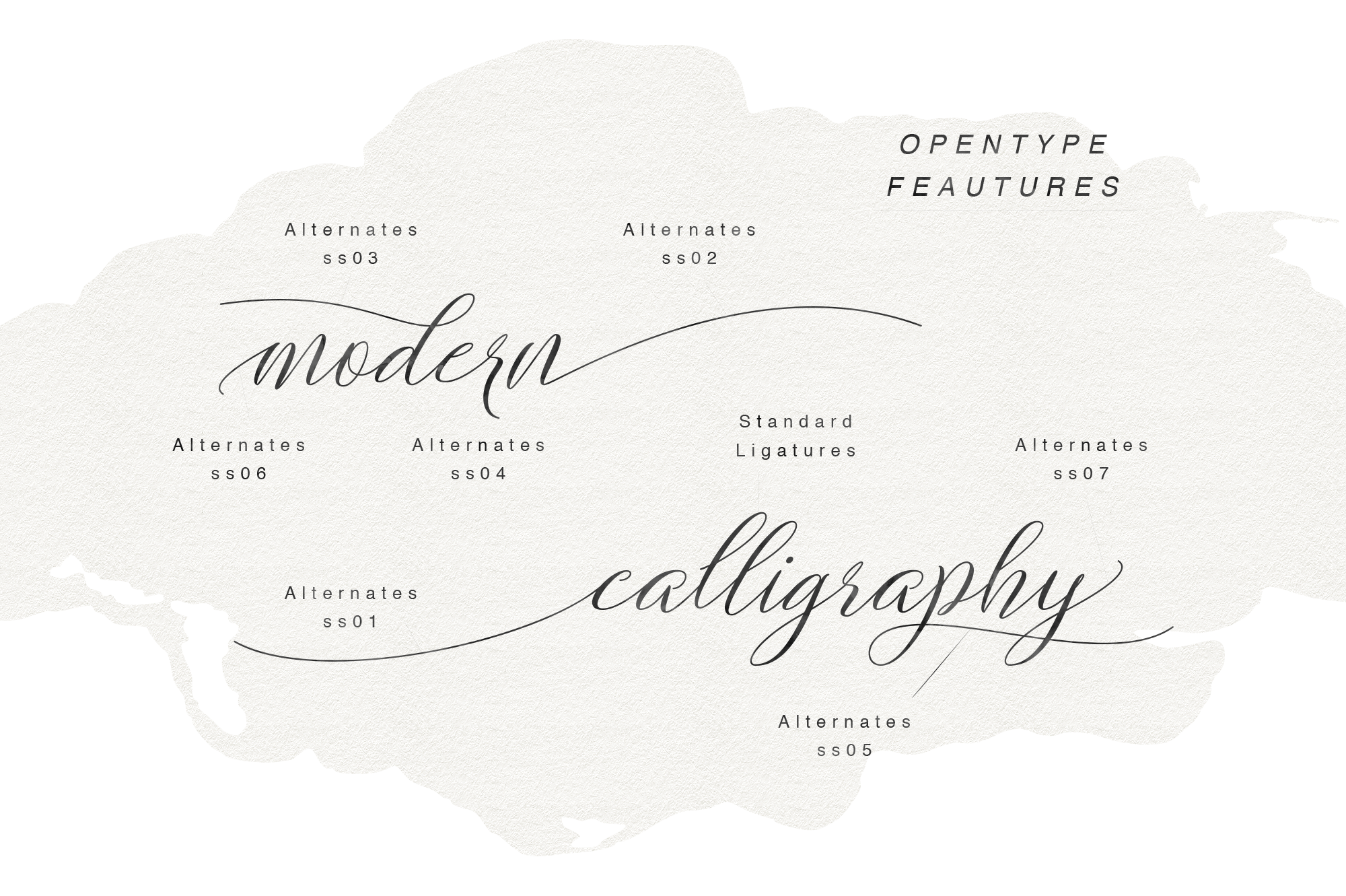 Brightshine Typeface example image 4