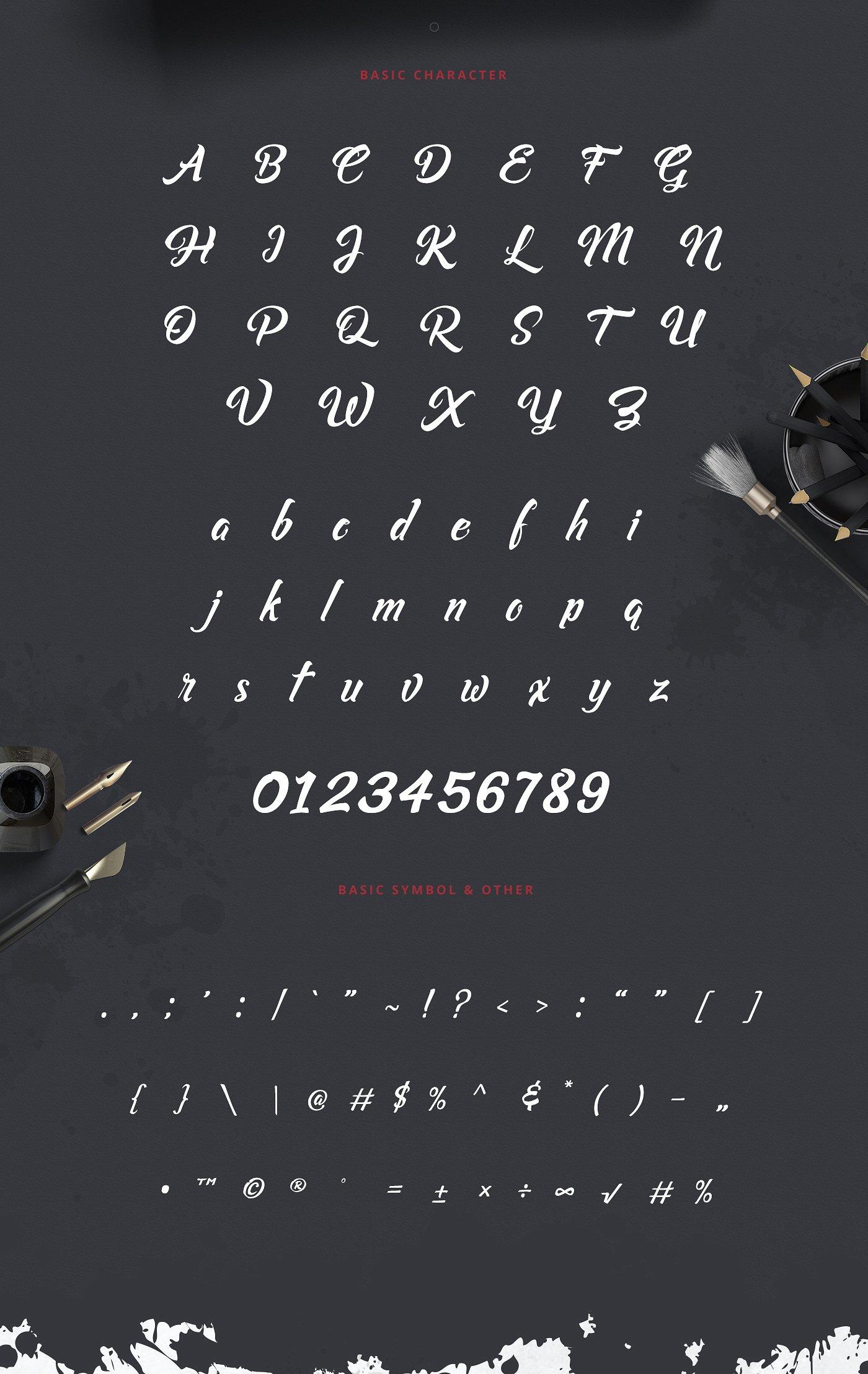 Asiyah Script Font example image 4