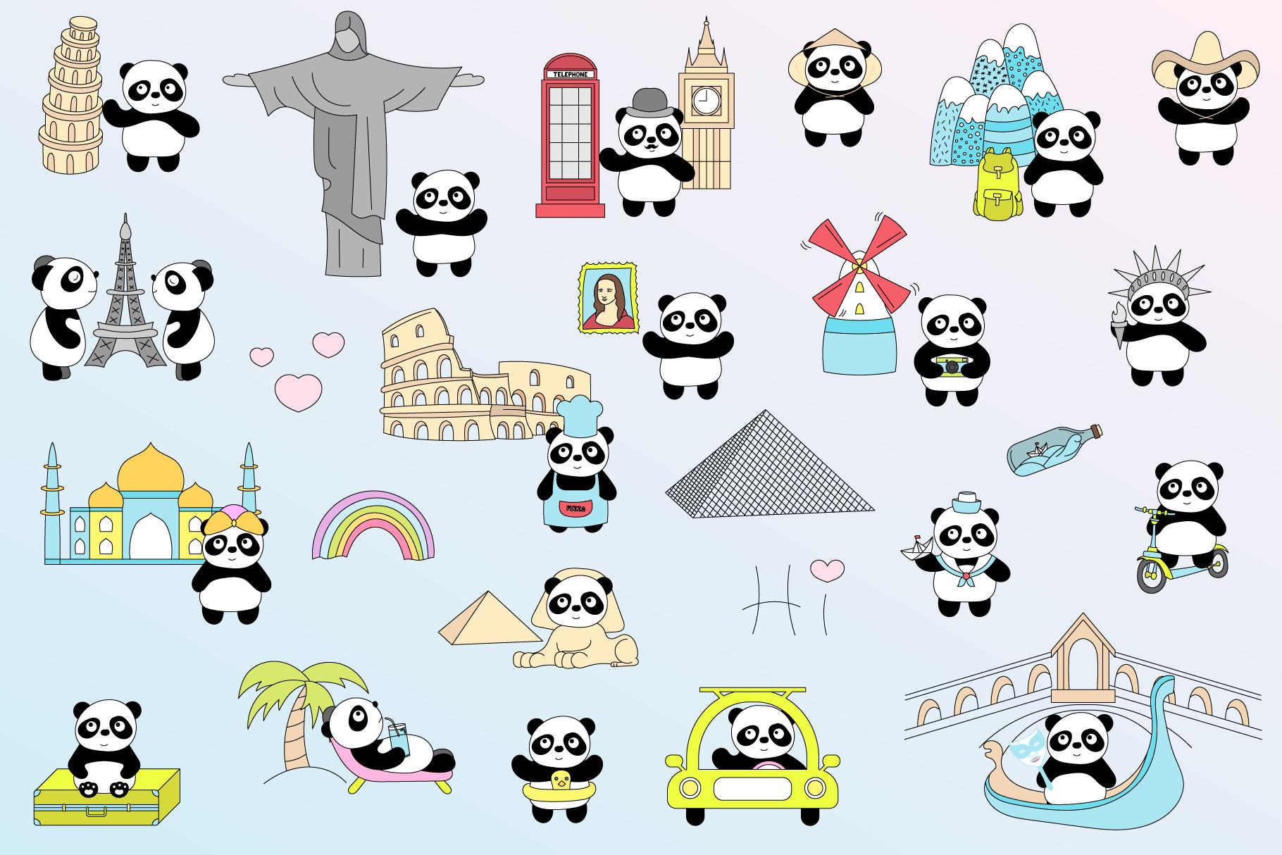 Panda travel example image 2