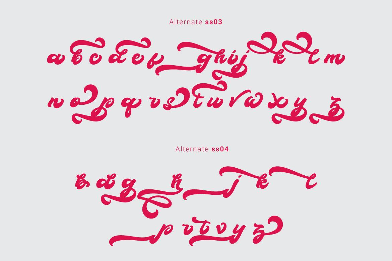 Boldie Script Typeface example image 7