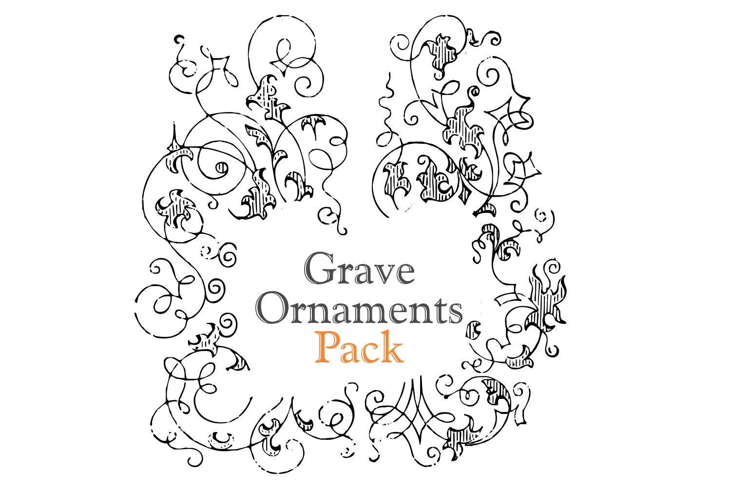 Grave Ornaments (pack) example image 1