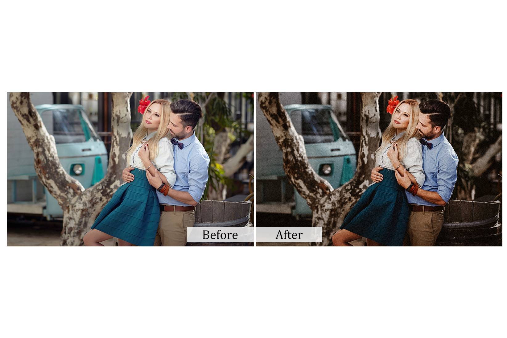100 True Love Photoshop Actions example image 6