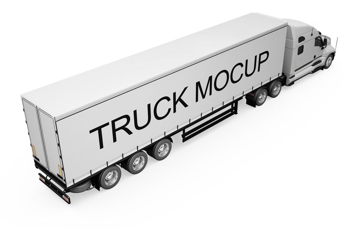 Truck Mockup example image 10