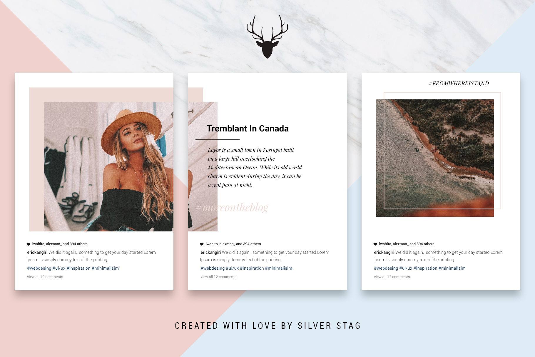 #InstaGrid 1.0 - Instagram Canva Puzzle Template example image 8