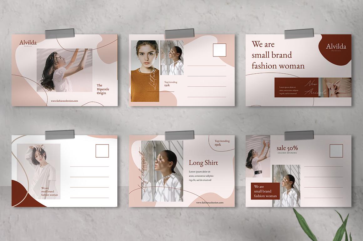 Alvida Postcard Templates example image 4
