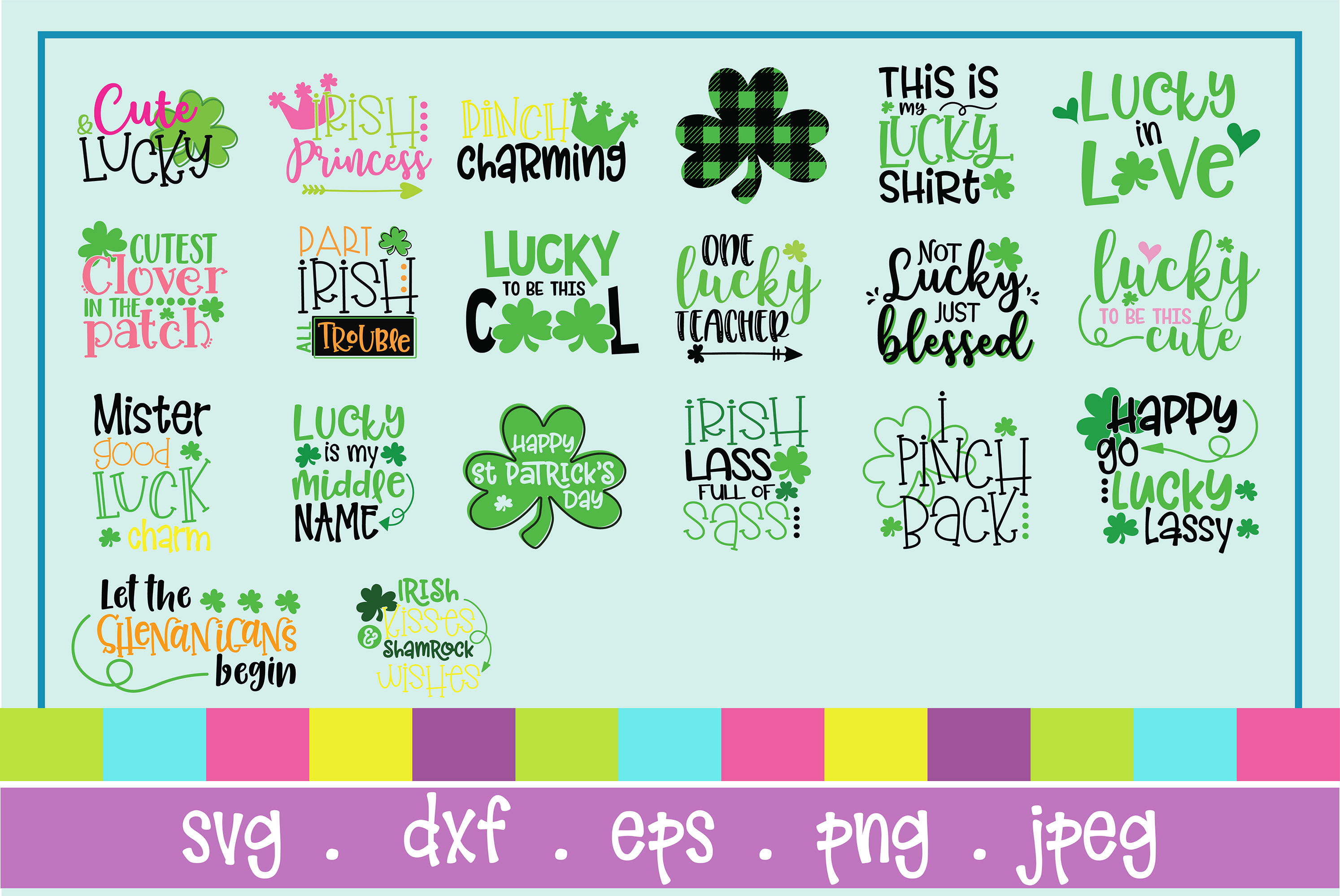 The Huge SVG Bundle Vol 2, 500 Cutting files, SVG, DXF,PNG example image 4
