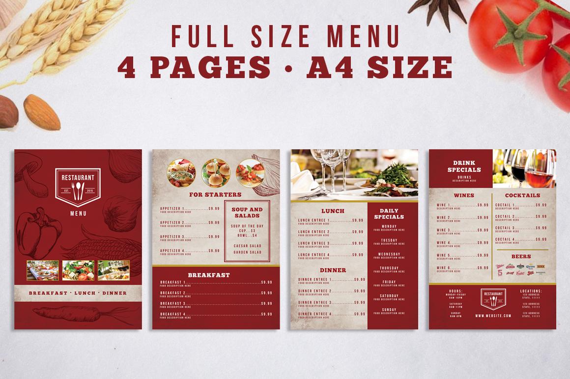 Restaurant Identity Bundle example image 4