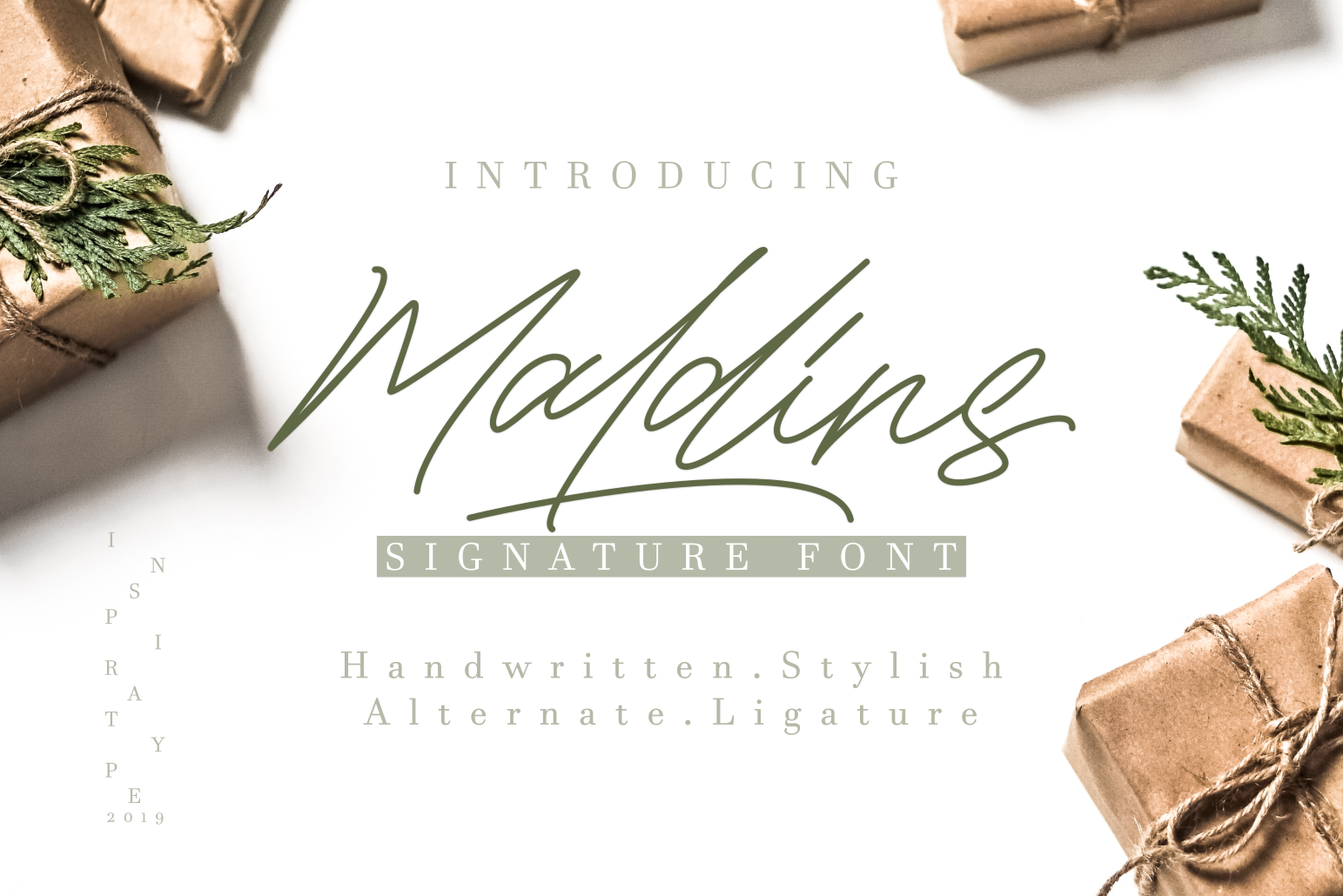 Maldins - Stylish Signature Font example image 1